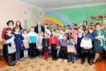 Маленькие свободненцы получили тактильные книжки  в Международный день слепых