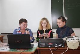 радиостудия школы-интерната